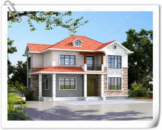 2层乡村别墅自建房设计施工装修全服务