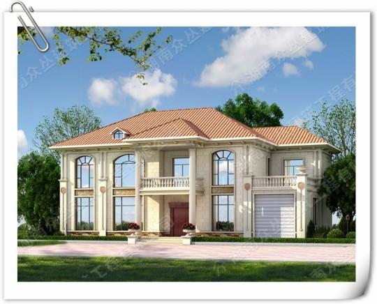 新款两层经典欧式轻奢别墅设计图纸
