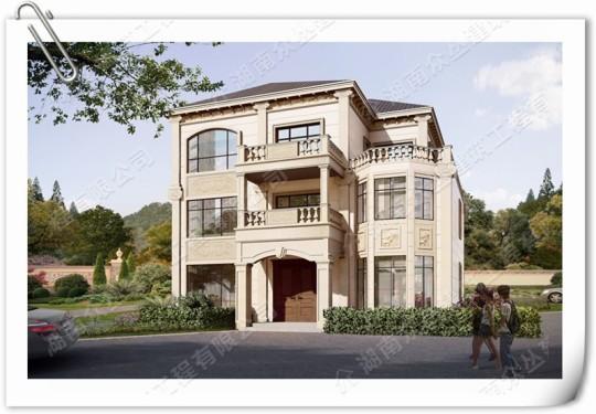 农村小别墅设计2层半建筑施工图