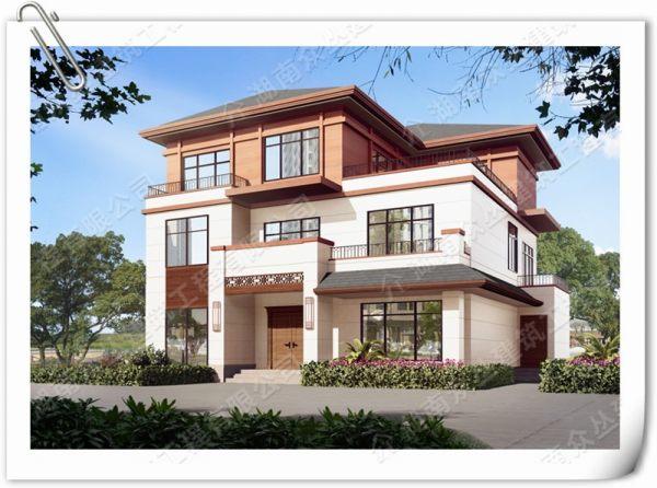 3层中式别墅400平施工图纸,施工图需绘制,购买请联系客服