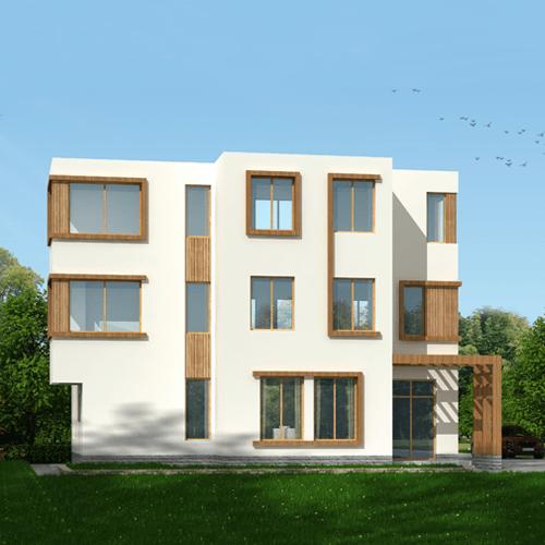 14x9三层现代风格别墅设计