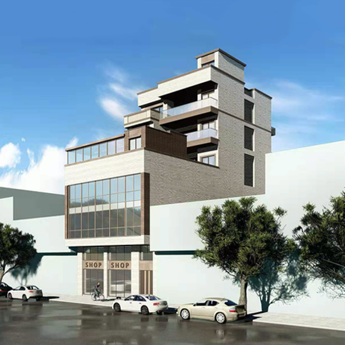 11x25七层新中式自建房设计