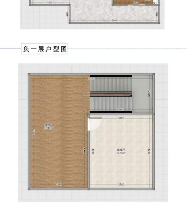 美式三層別墅設計圖平面圖