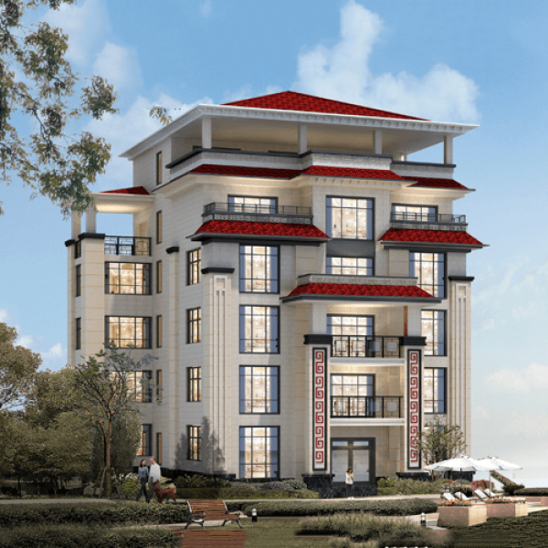 15x19六层新中式别墅设计图纸
