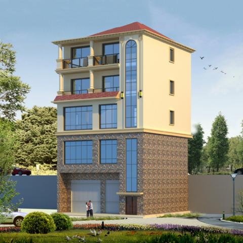 11x11五層歐式別墅設計