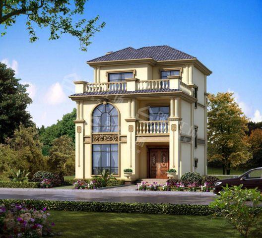占地8x11三层小户型自建别墅设计全套施工图