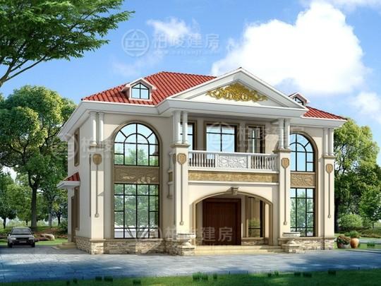 占地14x12二层自建别墅设计全套施工图
