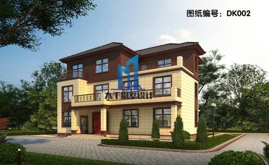 三层新中式大气别墅