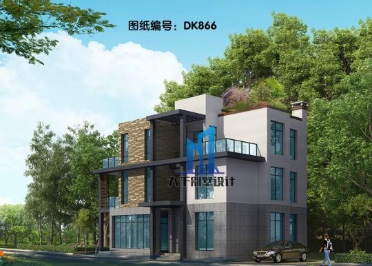 9x13三层小清新现代别墅