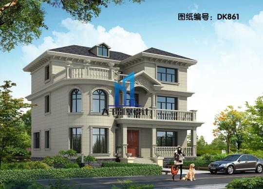 13x11三层豪华欧式别墅