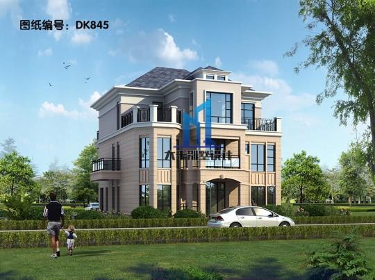 三层现代风格别墅 简单大气