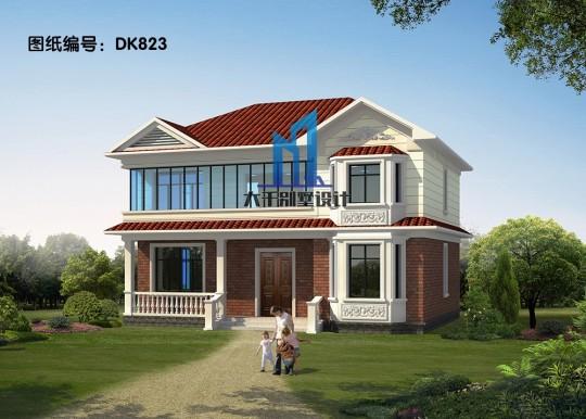 13x9两层欧式别墅