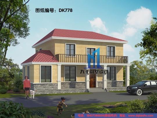 13x12兩層簡歐別墅