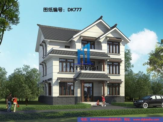 三层新中式别墅 配色低调奢华