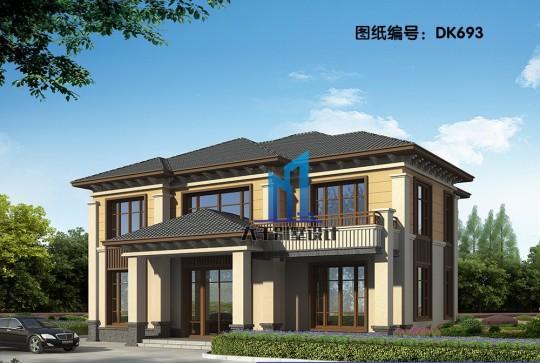 两层新中式别墅