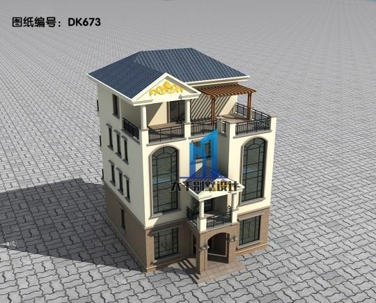 別墅配色沉穩大方 立面造型更加連貫 設計感十足