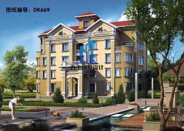 歐式五層豪華別墅