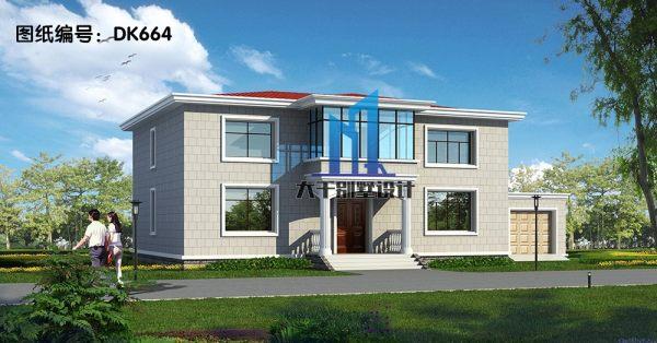 两层现代别墅