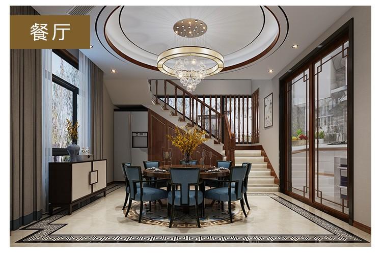 欧式两层半别墅设计图施工图
