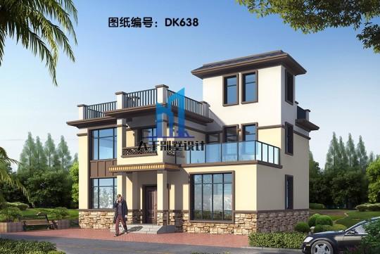 经久耐看的二层新中式别墅