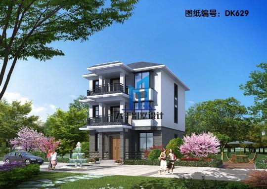 占地82平 小平米大格局 新中式别墅