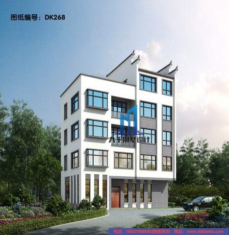 五層新中式別墅