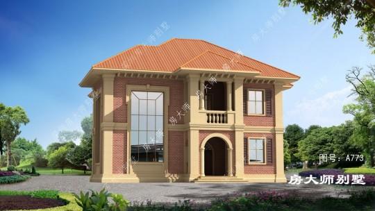 欧式两层经济宜居型别墅