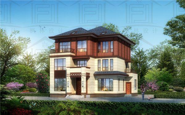 三层中式宜居型别墅