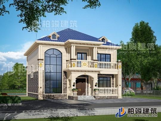 二层小别墅设计图纸及效果图大全