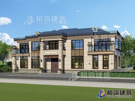 新中式别墅设计图纸及效果图大全