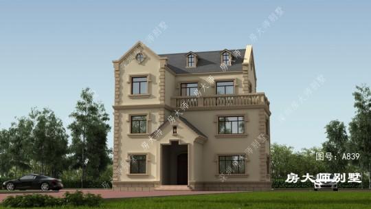 三层欧式简约宜居型别墅
