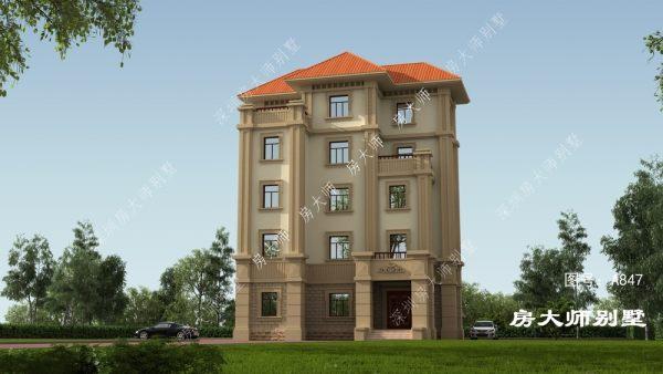 五層歐式實用型別墅