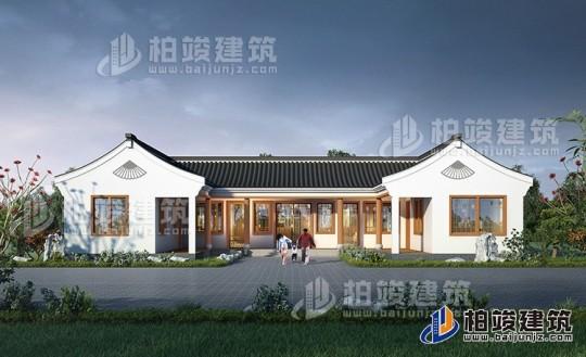 乡村古典一层别墅设计图