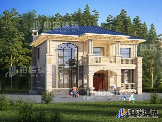 二层欧式别墅设计图纸及效果图大全