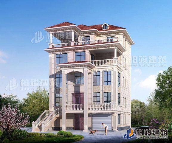五層別墅設計圖及效果圖大全獨棟