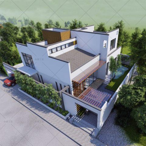 【雅致型】新中式徽派两层别墅