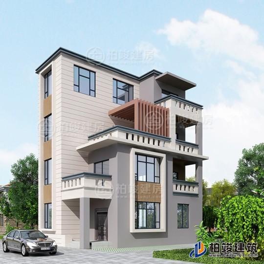 新中式四层别墅设计图纸,最美的新中式别墅