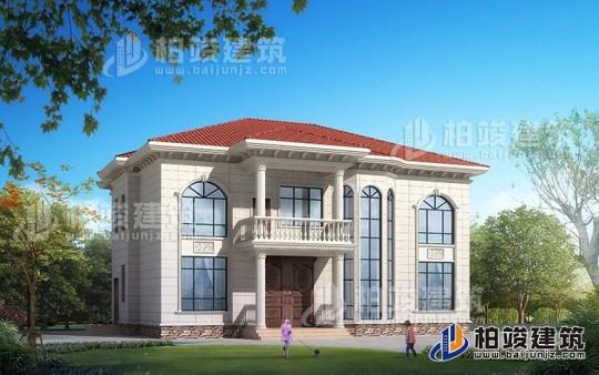 二层复式小别墅设计图,楼中楼结构,外观漂亮