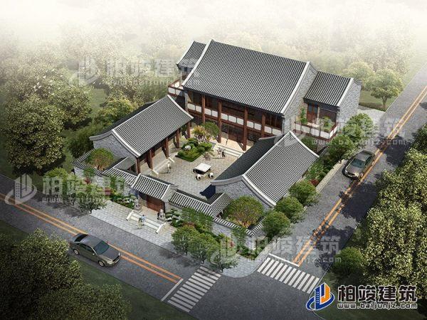 中式四合院古建设计图纸