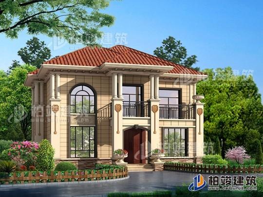 造价20万的二层自建房屋设计图