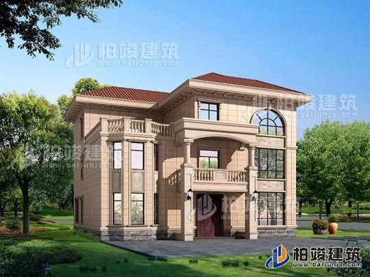 农村三层楼房设计图及效果图,复式框架结构