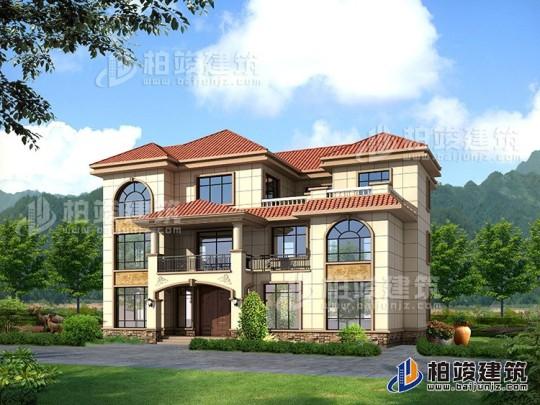 三层别墅设计图纸乡村自建房全套设计