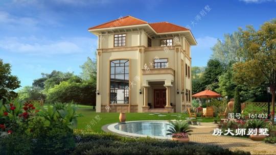 10x10三层欧式别墅设计