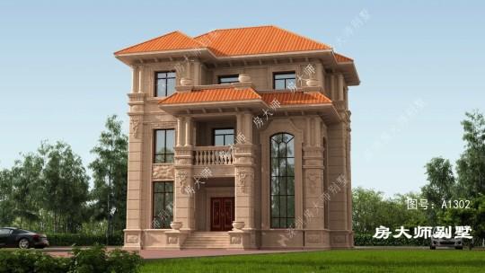 14x12三层欧式自建别墅