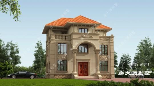 12x12三层欧式自建别墅