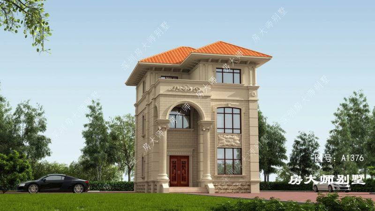 8x12三层欧式自建别墅