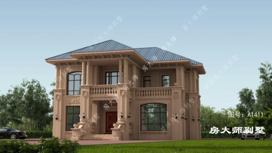 16x15三层欧式自建别墅