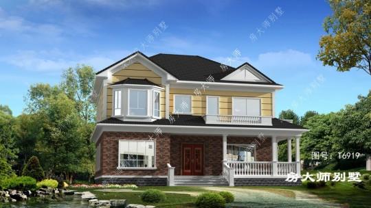 15x11二层欧式自建别墅设计图纸