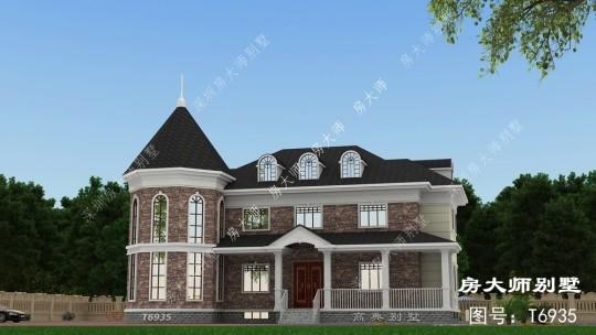 18x14二层欧式自建别墅