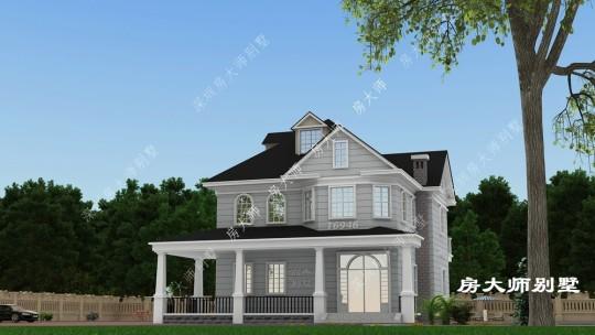 13x12二层欧式自建别墅